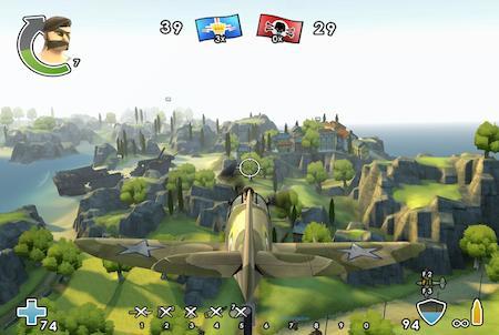 Lufteinsatz bei Battlefield Heroes