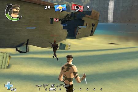 Messerstecher bei Battlefield Heroes