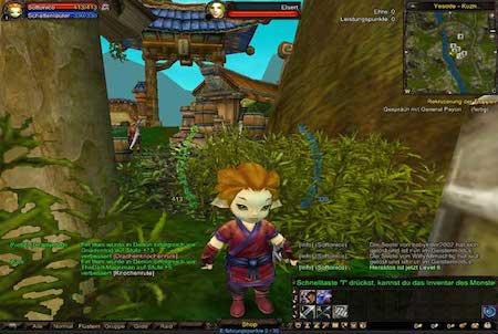 Charakter aus dem Downloadgame 4 Story