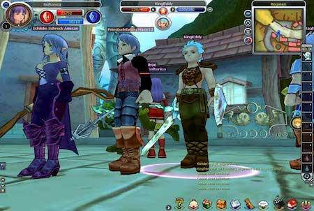 Charaktere aus Fiesta Online