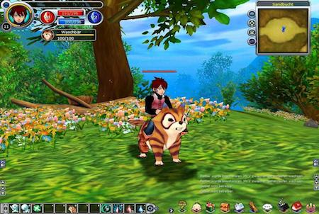 Reittier aus dem Game Fiesta Online