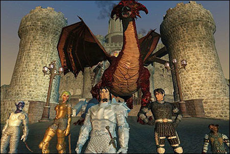 verschiedene Charaktere im Game Everquest 2