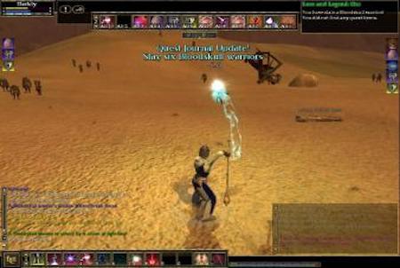 Attacke aus dem Downloadgame Everquest