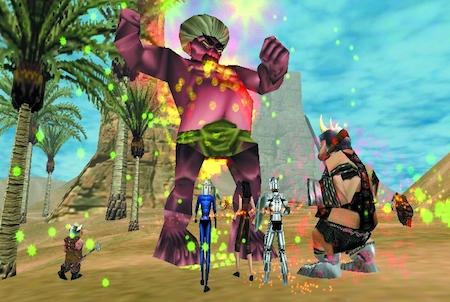 Boss aus dem Downloadgame Everquest