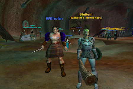 Charaktere aus dem Downloadgame Everquest