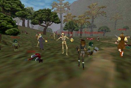 Community aus dem Downloadgame Everquest