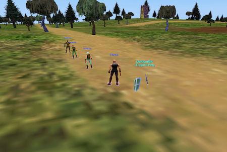 Umgebung aus dem Downloadgame Everquest
