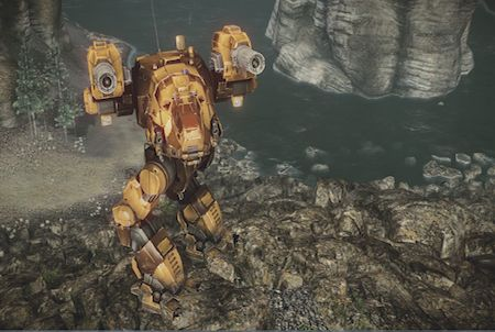 MechWarrior Online Kampfroboter