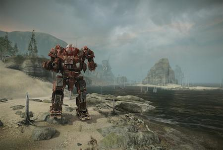 MechWarrior Online Roboter