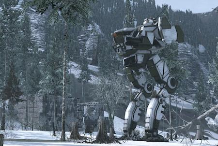 MechWarrior Online Winterlandschaft
