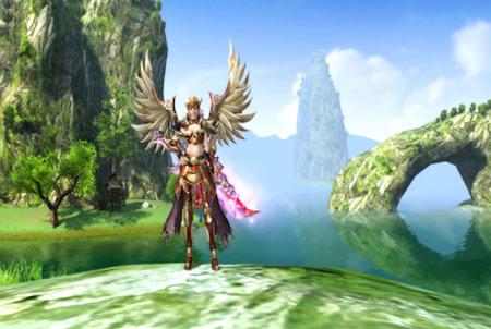 Loong fliegender Charakter