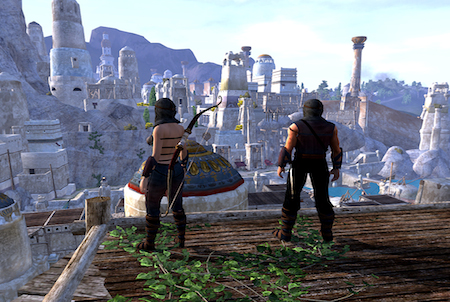 Stadt aus Age of Conan
