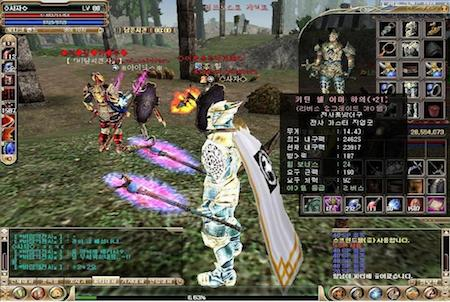 Charakter aus dem Game Knight Online