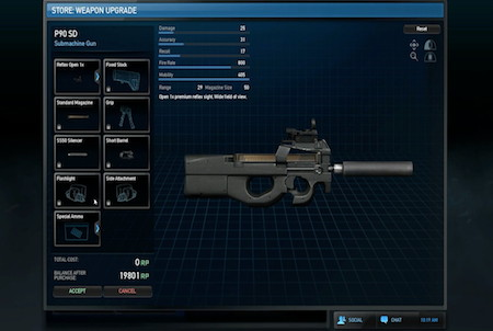 Tom Clancy's Ghost Recon Online Waffen