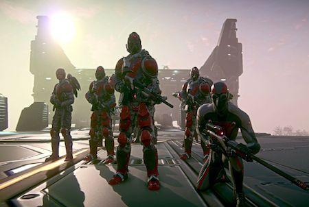 Teaser aus dem Game Planetside 2