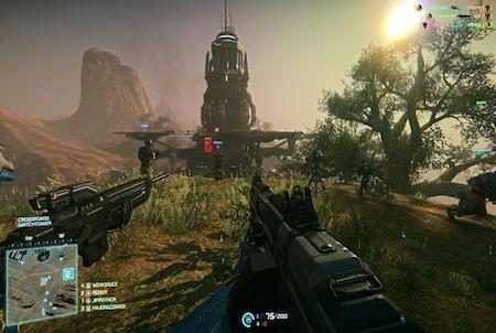 Planetside 2 Mission