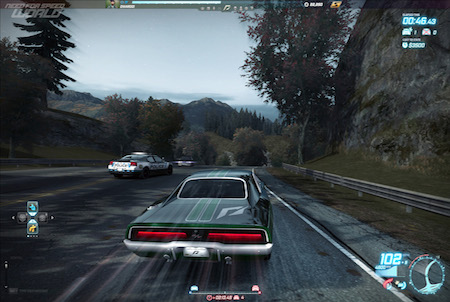 Need for Speed World Polizei