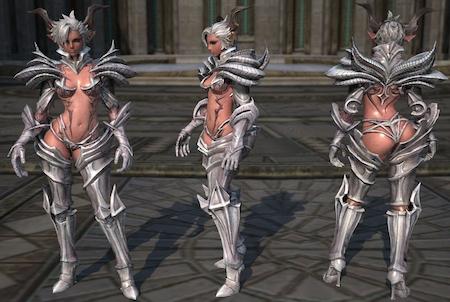 Charakter aus dem Game Tera