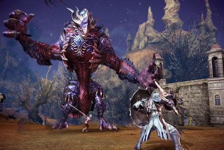 Monster aus dem Game Tera
