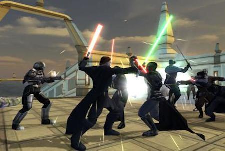 Star Wars The Old Republic Kampfszene