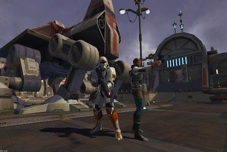verschiedene Figuren Star Wars The Old Republic