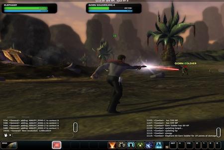 fremder Planet bei Star Trek Online