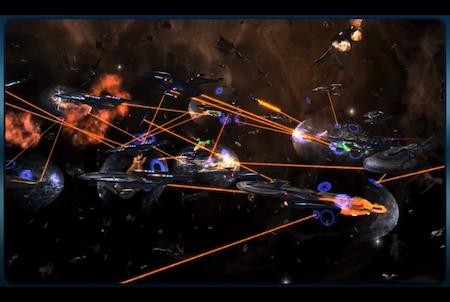 Star Trek Online Schlacht im Weltraum