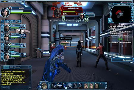 Star Trek Online Teamfight
