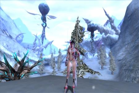 Scarlet Blade Winterlandschaft