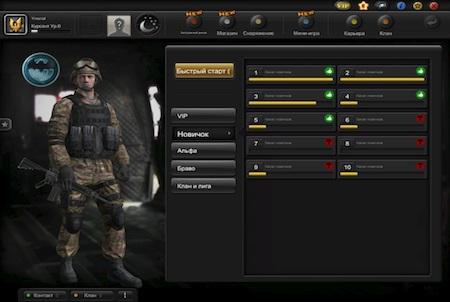 Charakter aus dem Game S.K.I.L.L.
