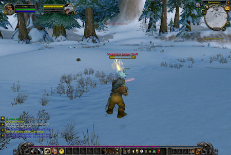 World of Warcraft Winterlandschaft