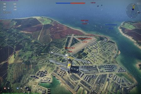 War Thunder Erkundungsflug