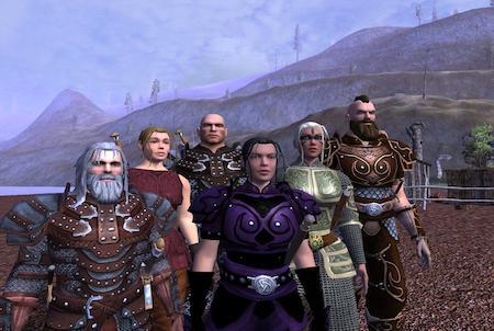 Vanguard: Saga of Heroes Charaktere